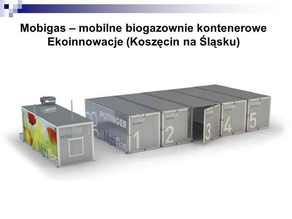 Mobigas – mobilne biogazownie kontenerowe