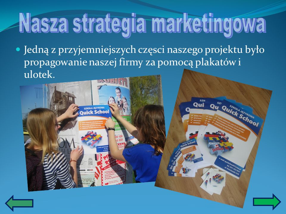 Nasza strategia marketingowa