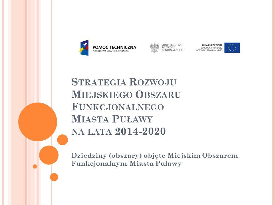 Strategia Rozwoju Miejskiego Obszaru Funkcjonalnego Miasta Puławy na lata 2014-2020