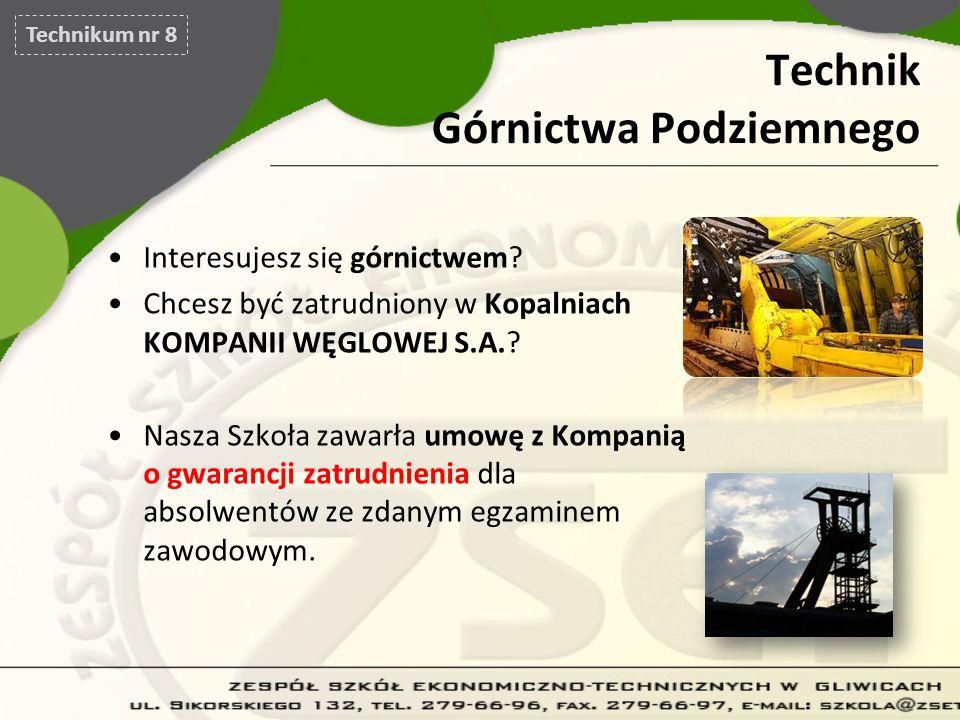 Technik Górnictwa Podziemnego
