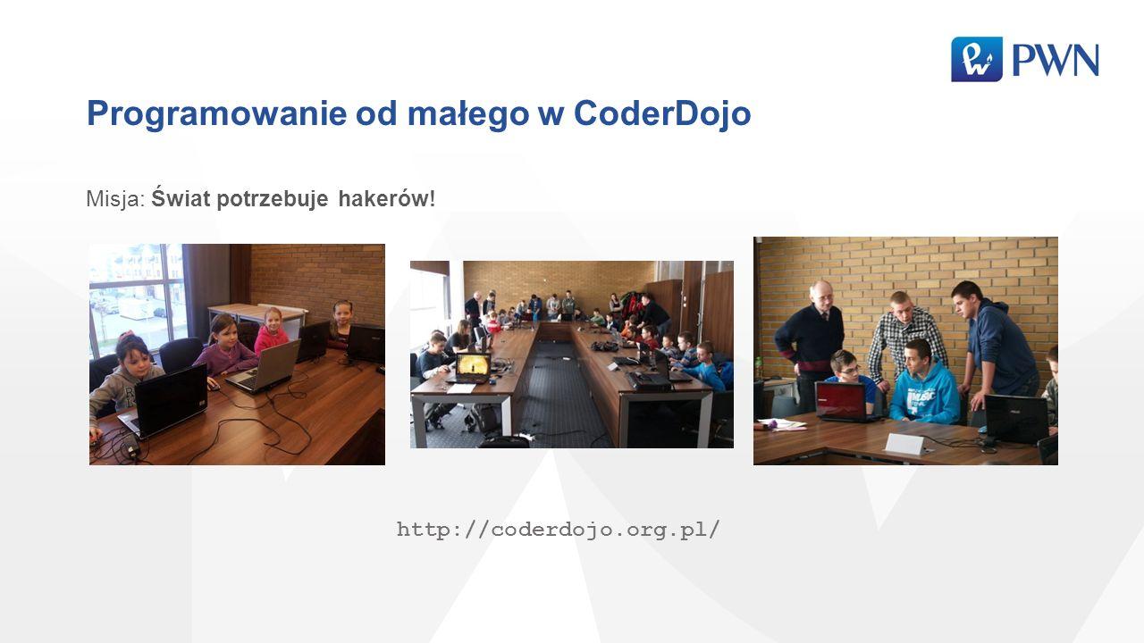 Programowanie od małego w CoderDojo