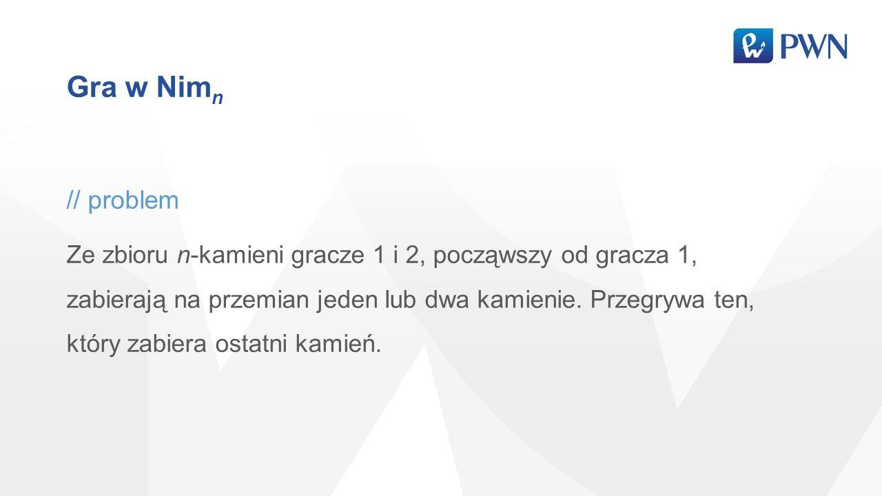 Gra w Nimn // problem.