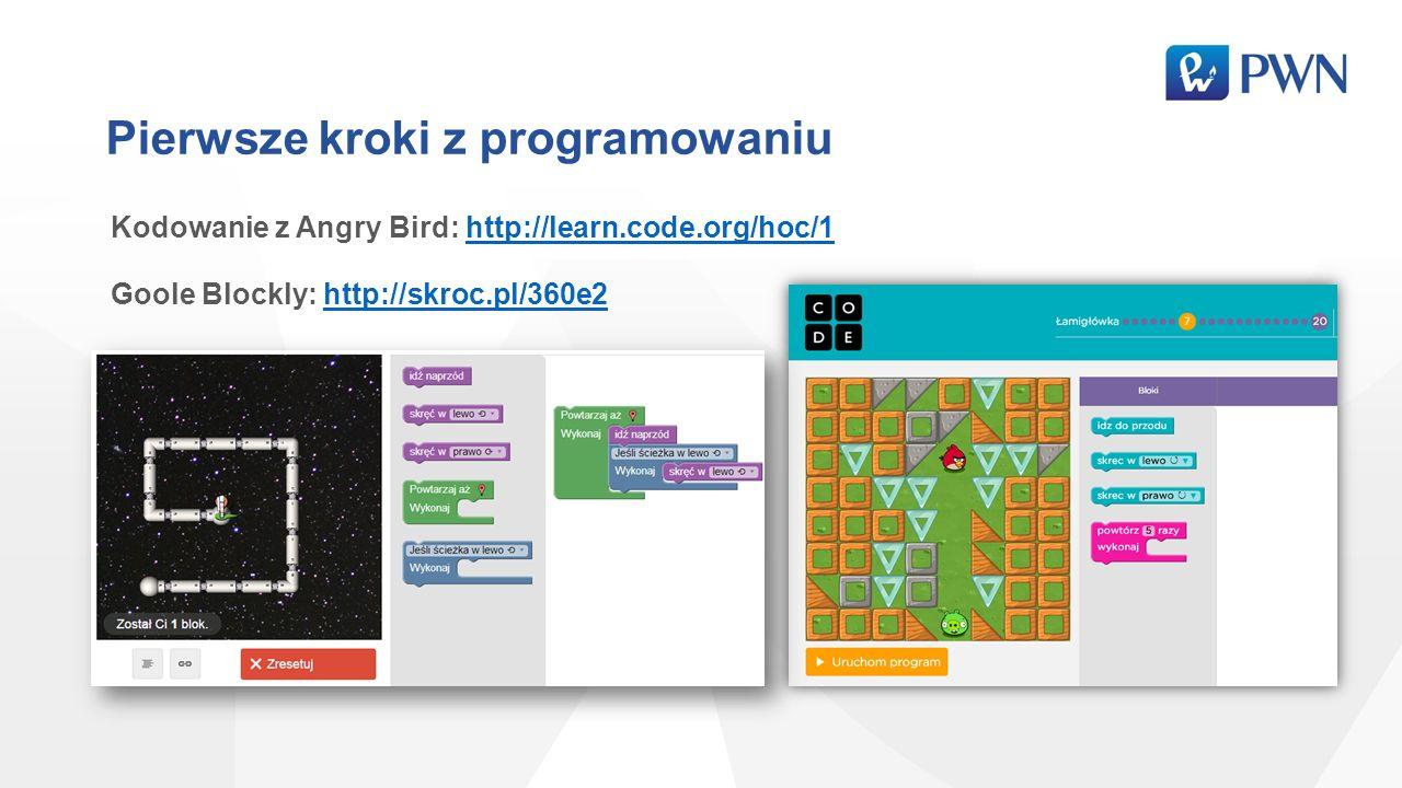 Pierwsze kroki z programowaniu