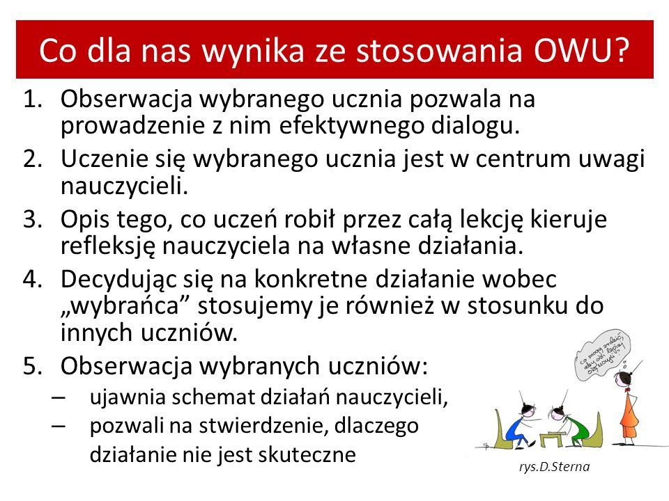 Co dla nas wynika ze stosowania OWU