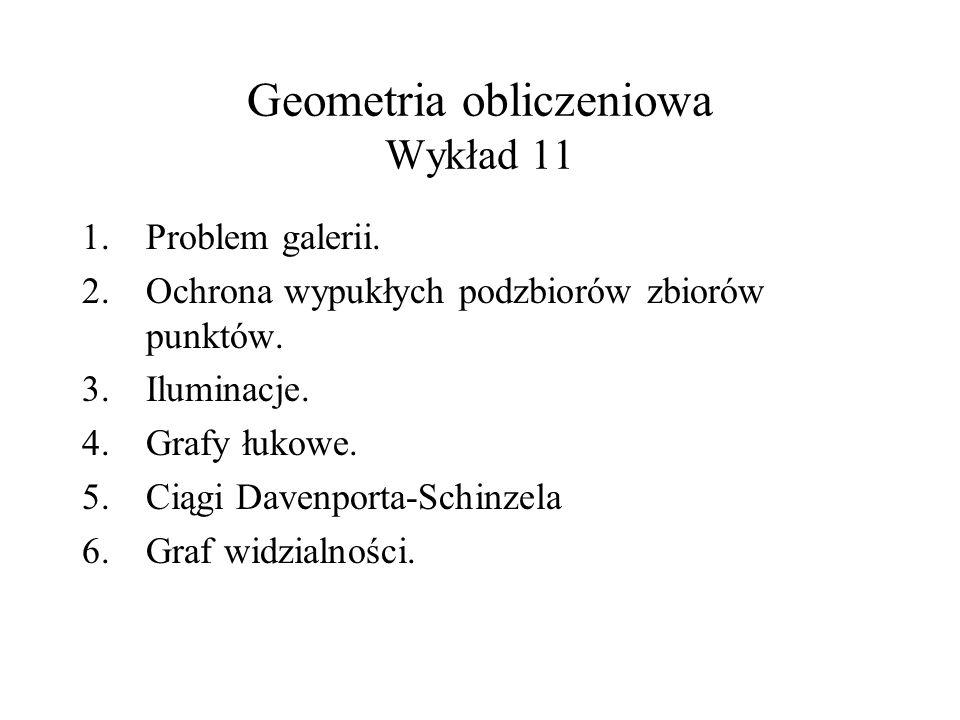 Geometria obliczeniowa Wykład 11