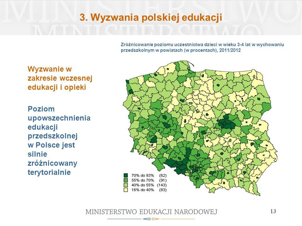 3. Wyzwania polskiej edukacji
