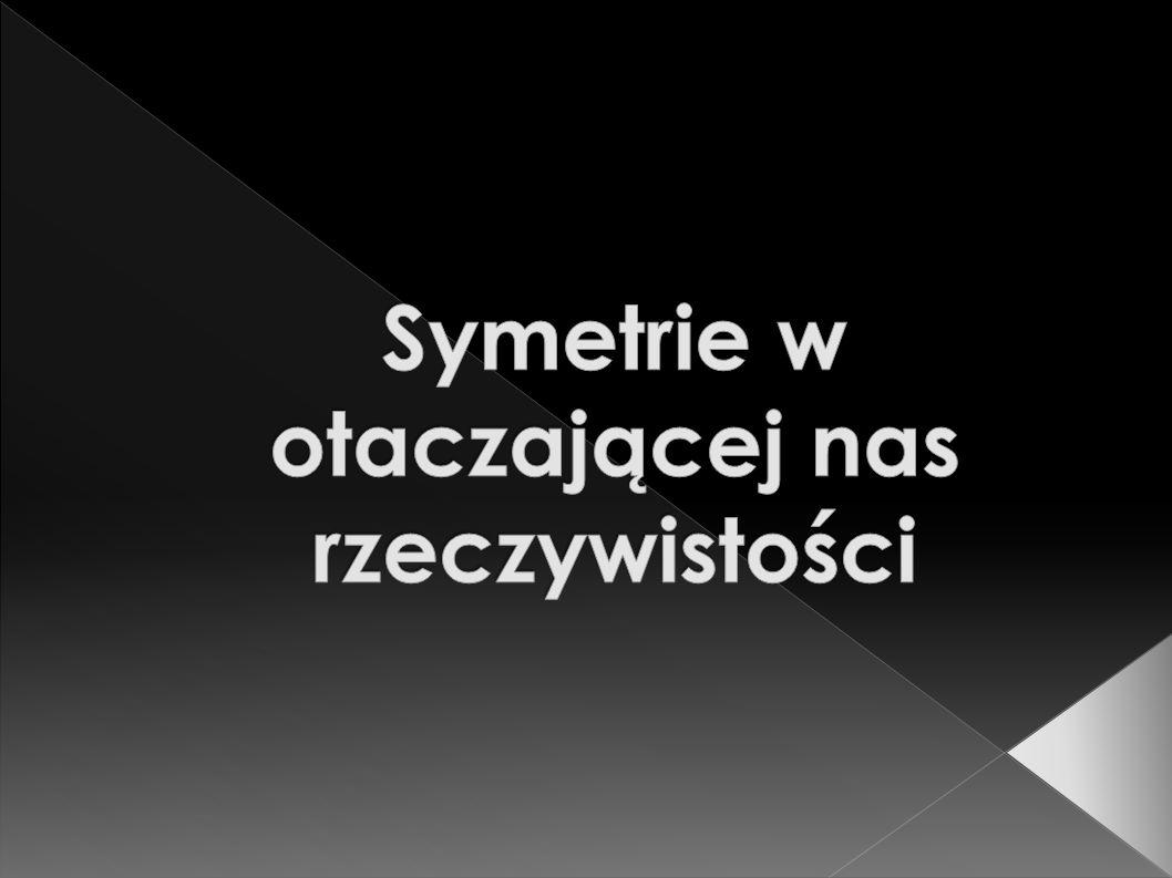 Symetrie w otaczającej nas rzeczywistości