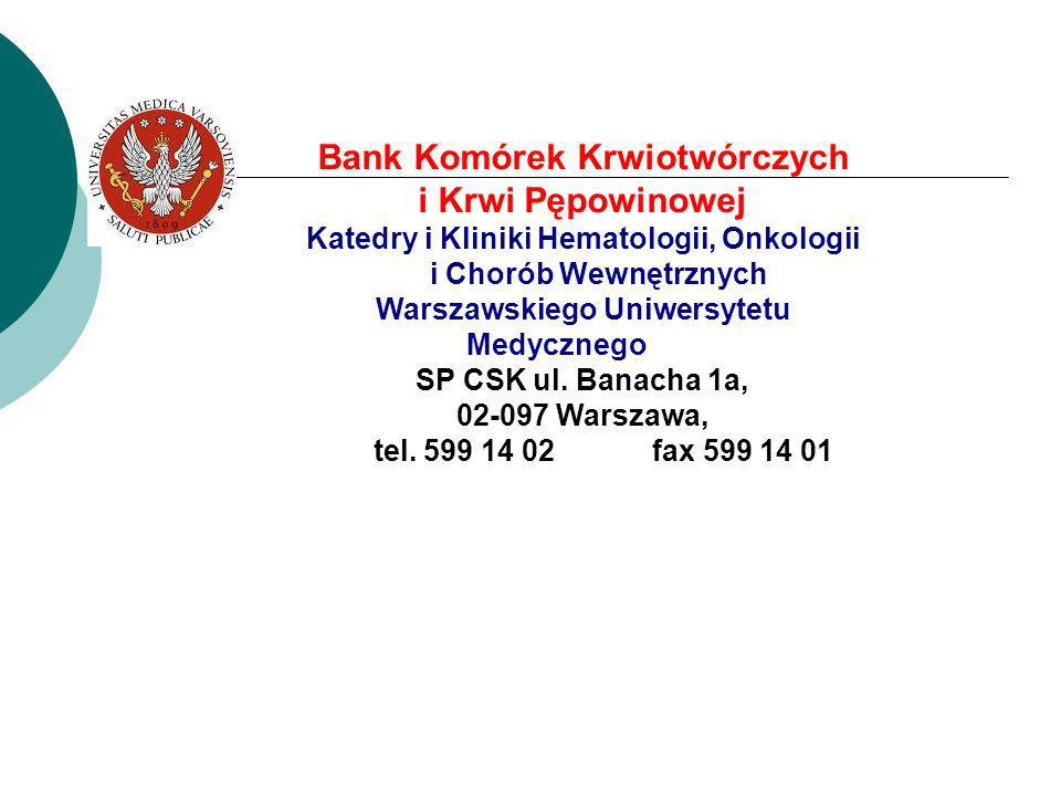 Bank Komórek Krwiotwórczych