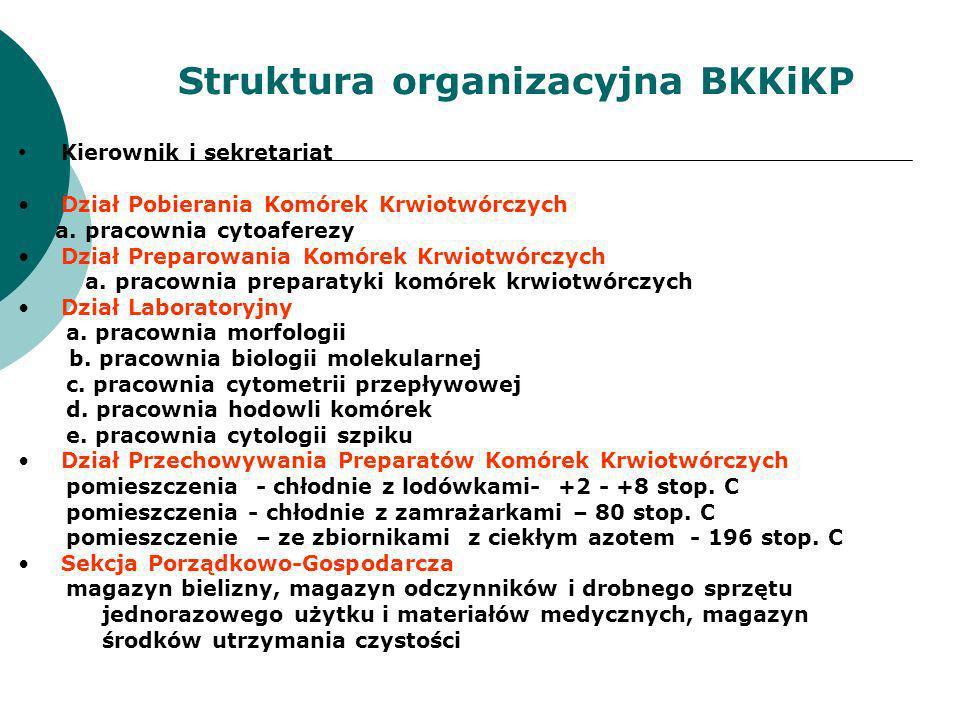 Struktura organizacyjna BKKiKP