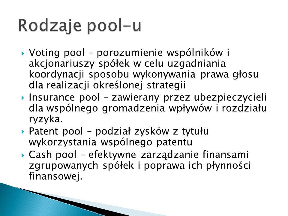 Rodzaje pool-u