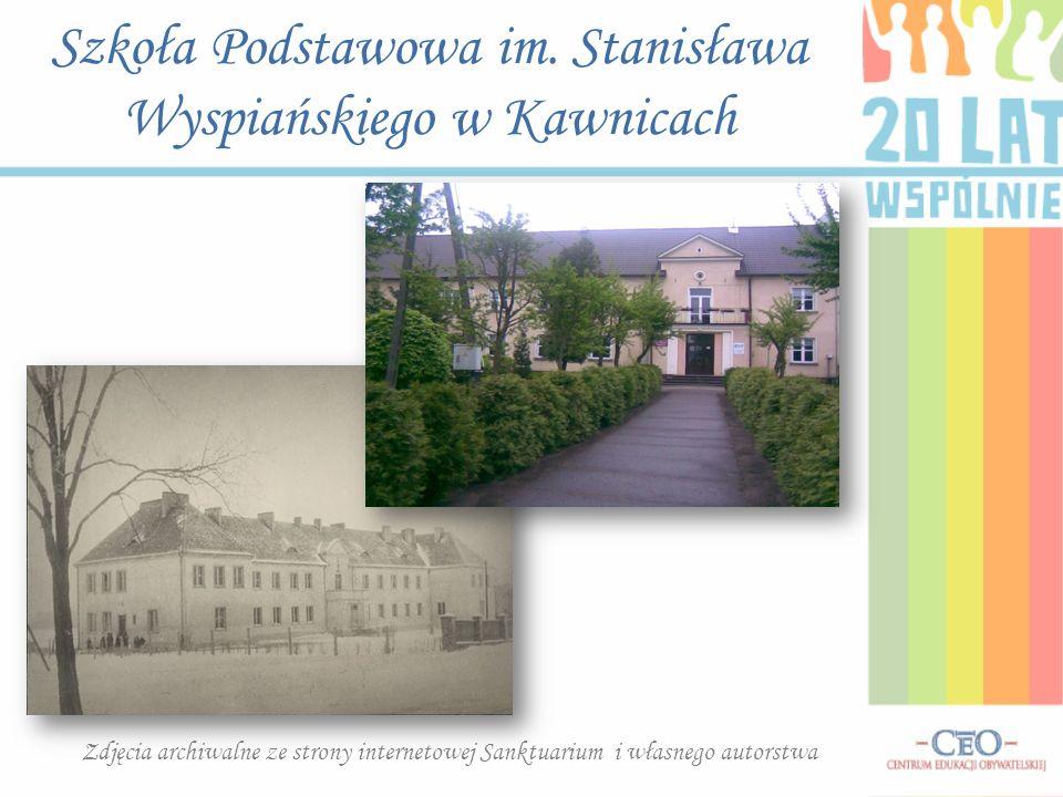 Szkoła Podstawowa im. Stanisława Wyspiańskiego w Kawnicach