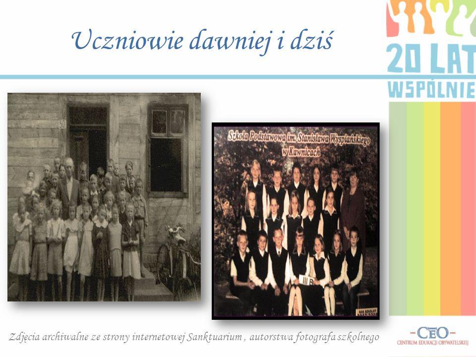 Uczniowie dawniej i dziś