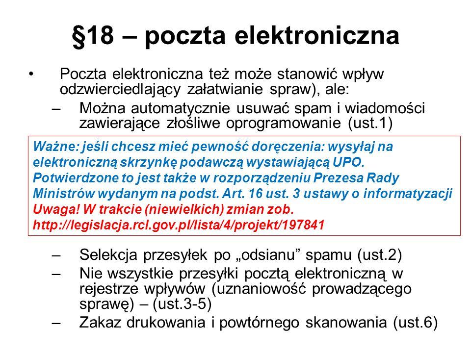 §18 – poczta elektroniczna