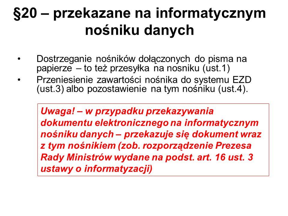 §20 – przekazane na informatycznym nośniku danych