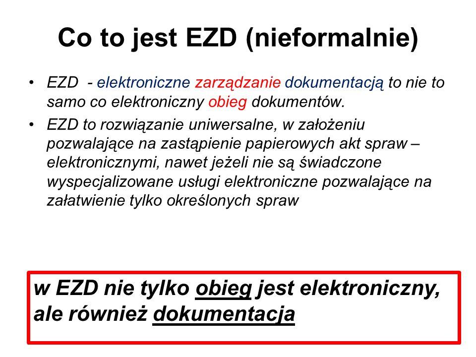 Co to jest EZD (nieformalnie)