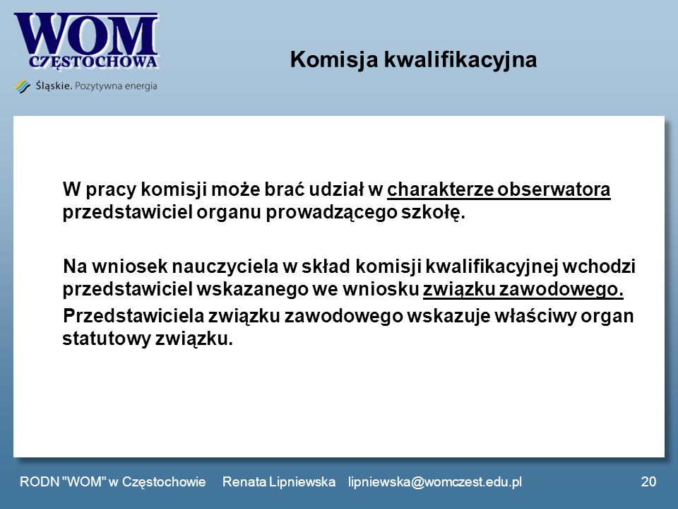 Komisja kwalifikacyjna