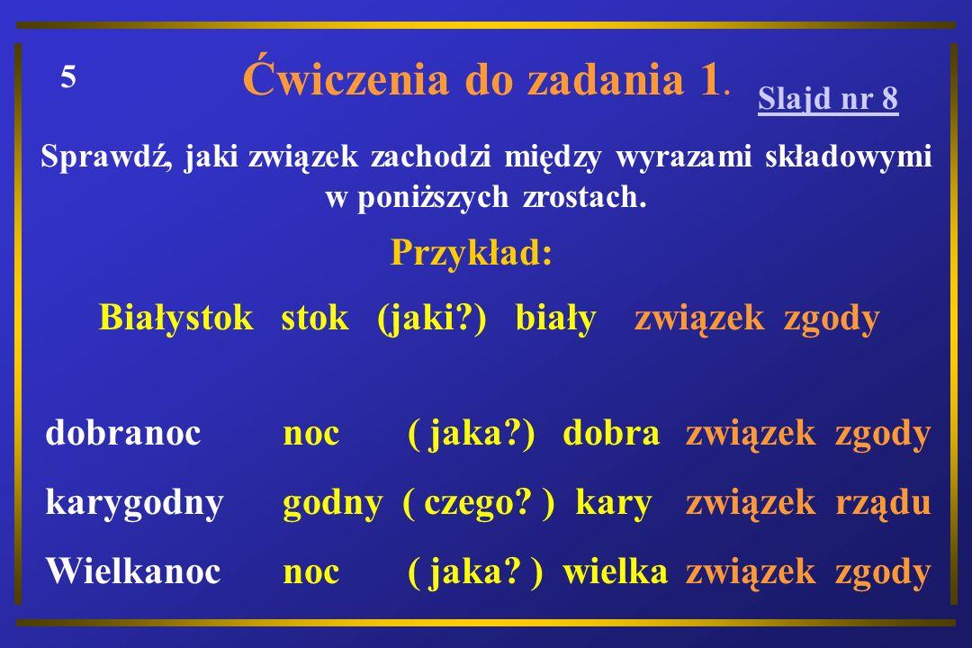 Białystok stok (jaki ) biały związek zgody