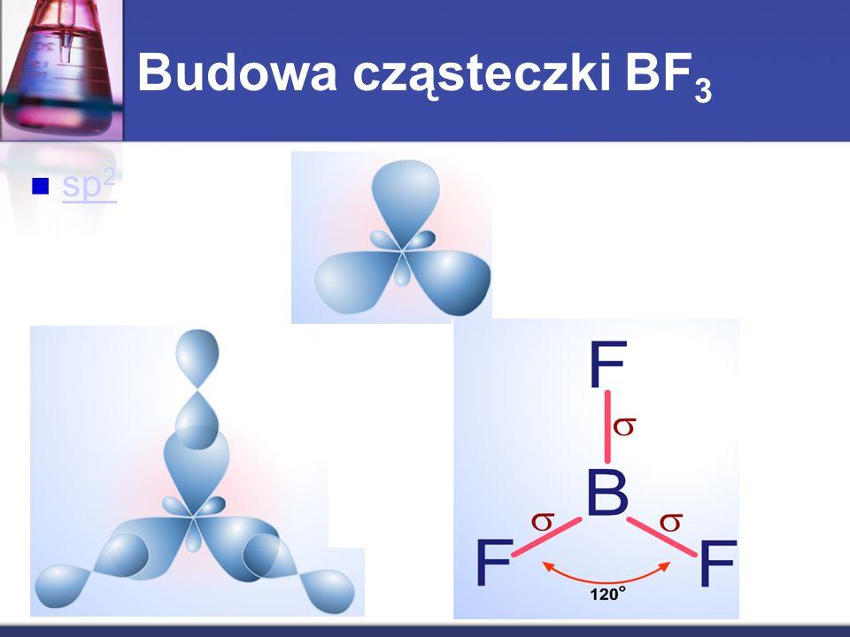 Budowa cząsteczki BF3 sp2