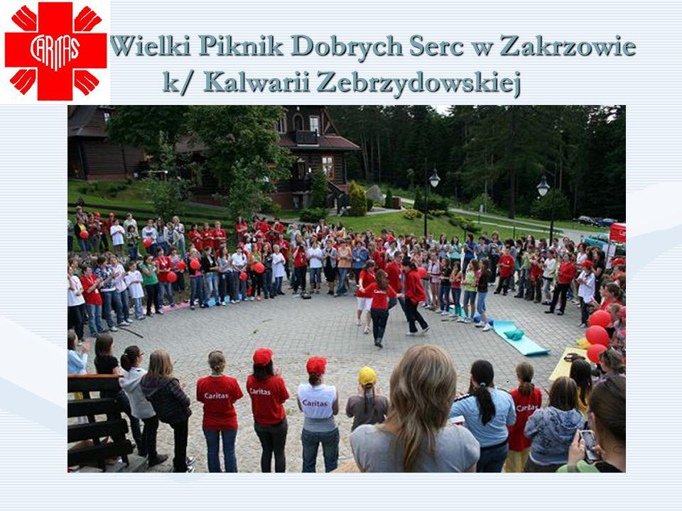 Wielki Piknik Dobrych Serc w Zakrzowie k/ Kalwarii Zebrzydowskiej