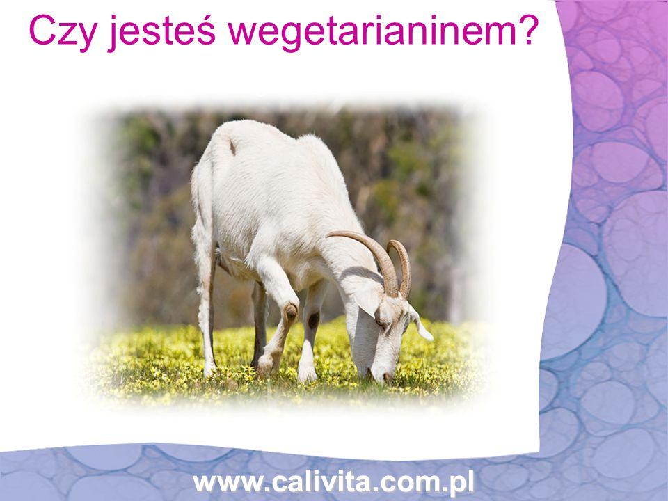 Czy jesteś wegetarianinem