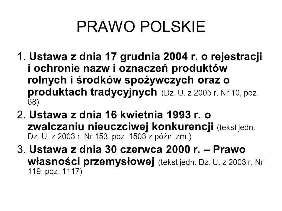 PRAWO POLSKIE
