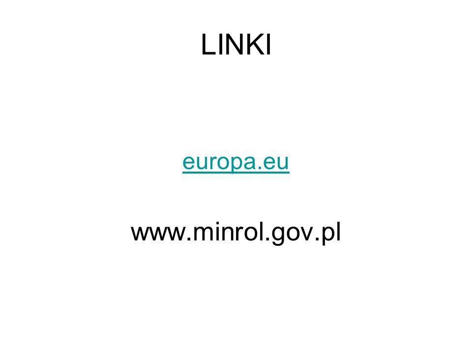 LINKI europa.eu www.minrol.gov.pl