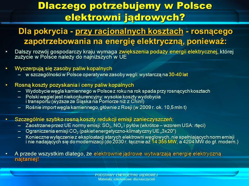 Dlaczego potrzebujemy w Polsce elektrowni jądrowych