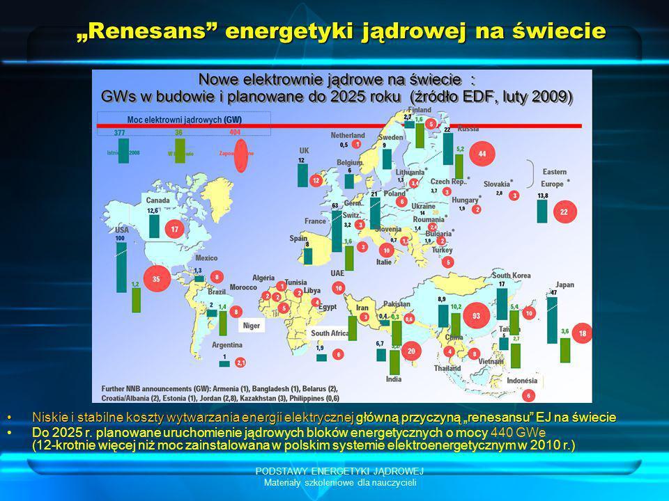 """""""Renesans energetyki jądrowej na świecie"""
