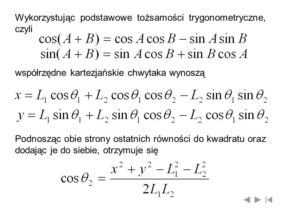 Wykorzystując podstawowe tożsamości trygonometryczne, czyli