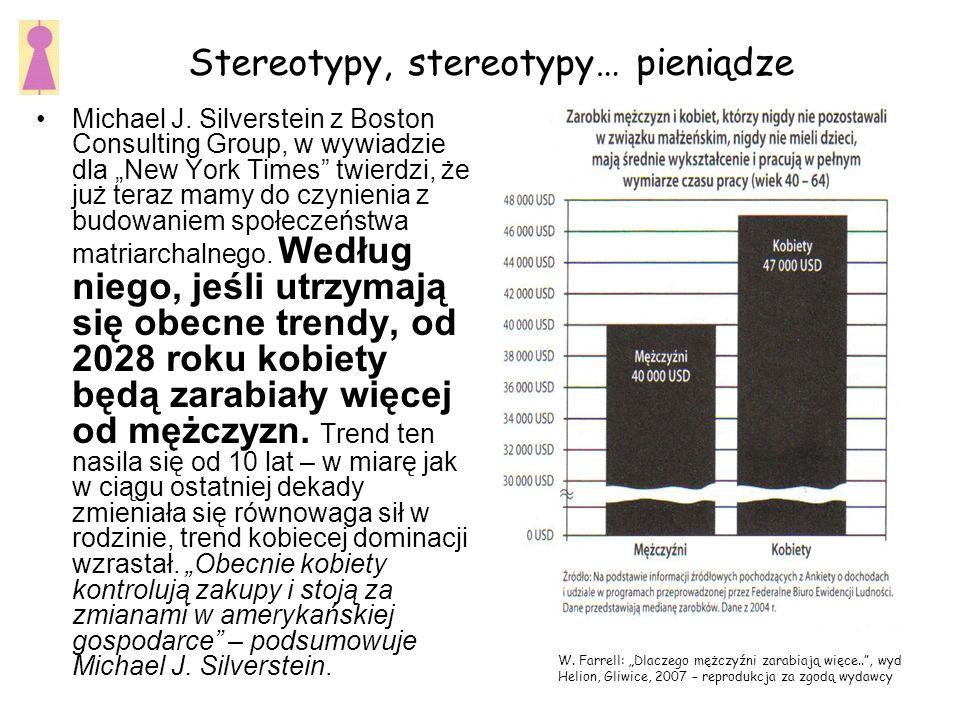 Stereotypy, stereotypy… pieniądze