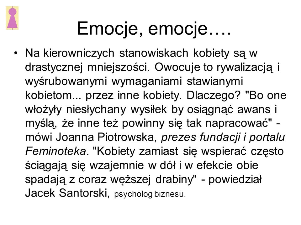 Emocje, emocje….