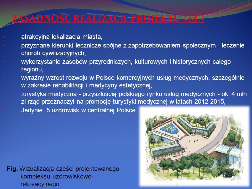 ZASADNOŚĆ REALIZACJI PROJEKTU (cd.)