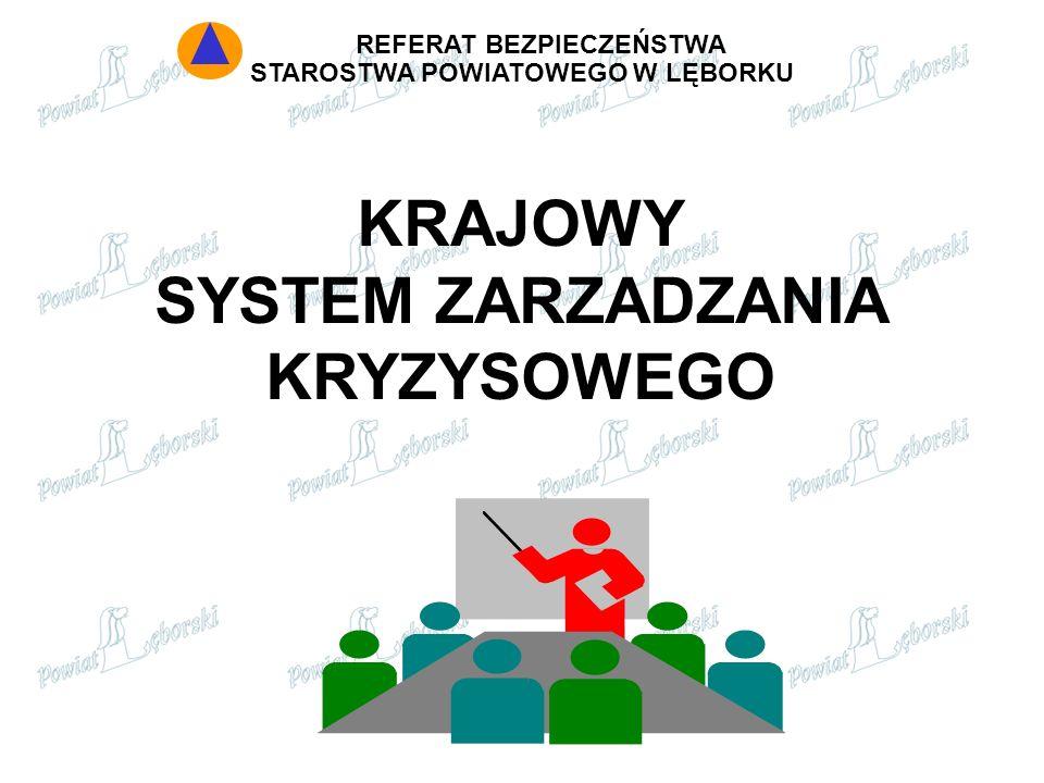 KRAJOWY SYSTEM ZARZADZANIA KRYZYSOWEGO