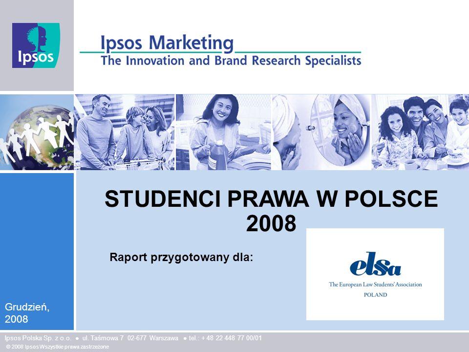 STUDENCI PRAWA W POLSCE 2008