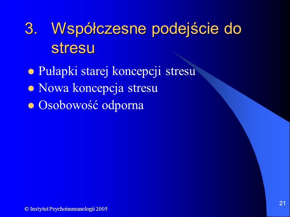 Współczesne podejście do stresu
