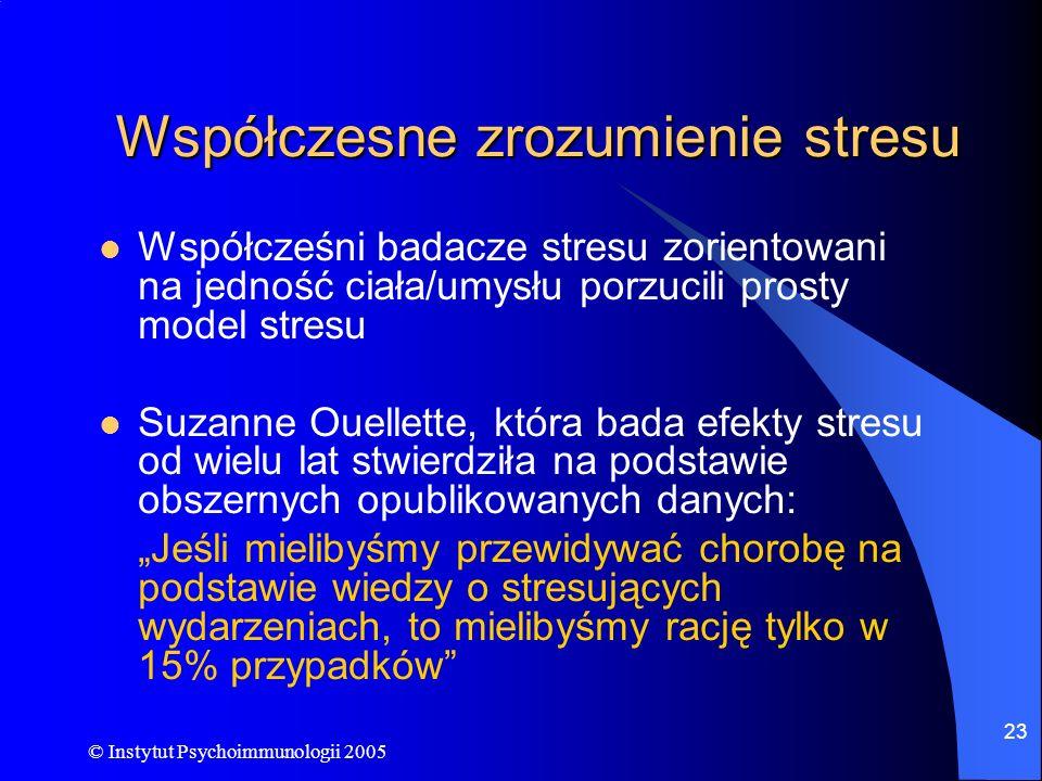 Współczesne zrozumienie stresu