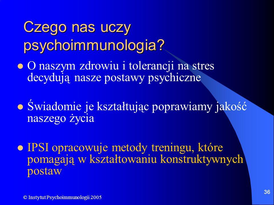 Czego nas uczy psychoimmunologia