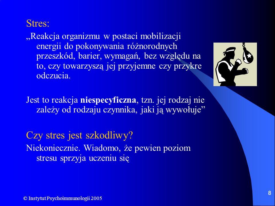 Czy stres jest szkodliwy