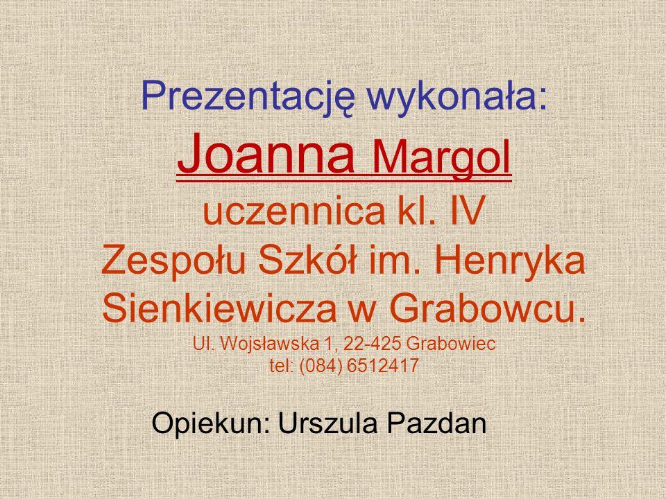 Opiekun: Urszula Pazdan
