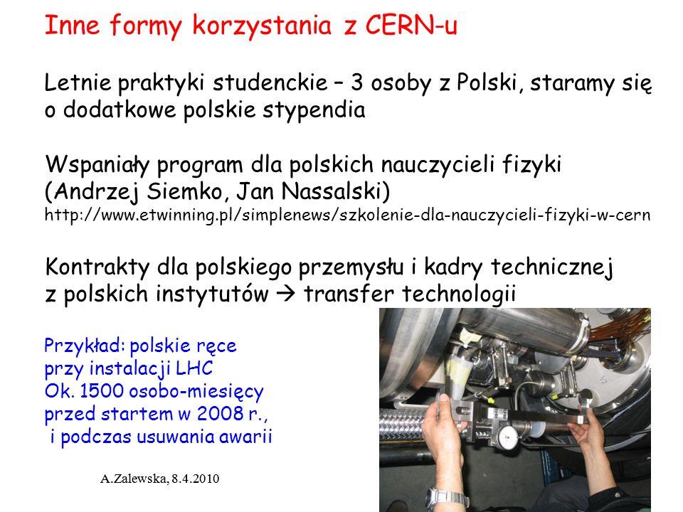 Inne formy korzystania z CERN-u