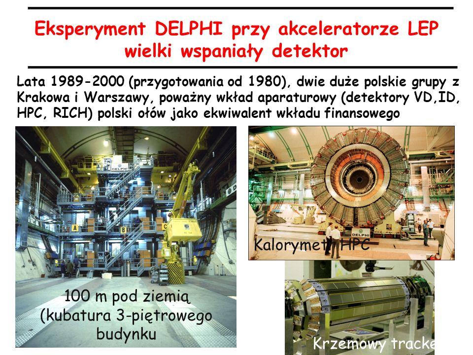 Eksperyment DELPHI przy akceleratorze LEP wielki wspaniały detektor