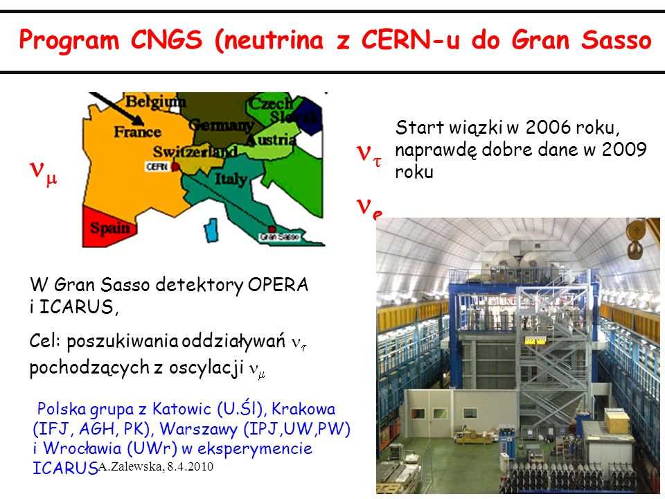 Program CNGS (neutrina z CERN-u do Gran Sasso