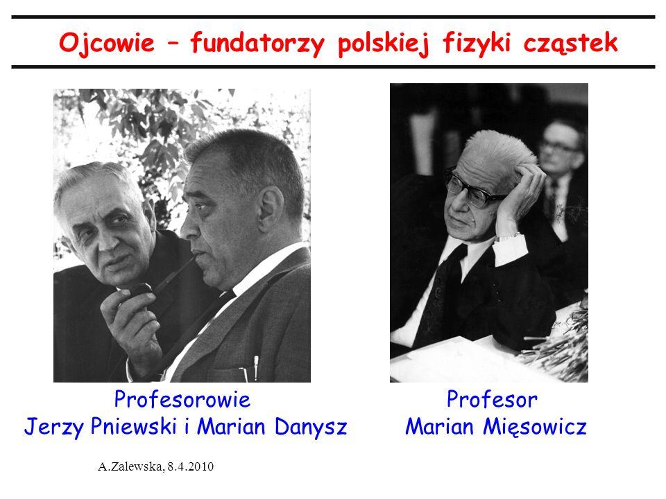 Ojcowie – fundatorzy polskiej fizyki cząstek