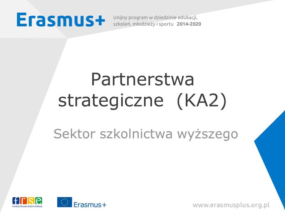 Partnerstwa strategiczne (KA2)