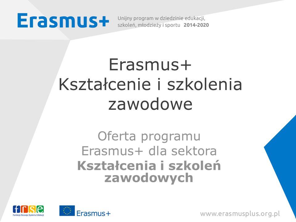 Erasmus+ Kształcenie i szkolenia zawodowe