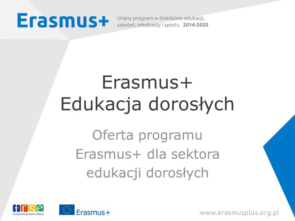 Erasmus+ Edukacja dorosłych