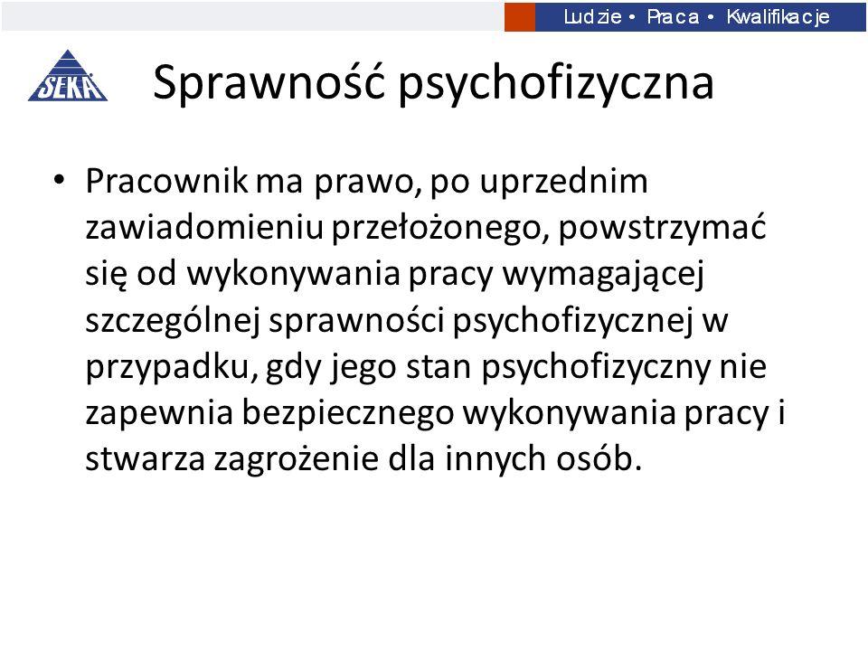 Sprawność psychofizyczna