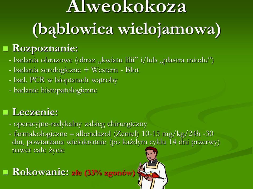 Alweokokoza (bąblowica wielojamowa)