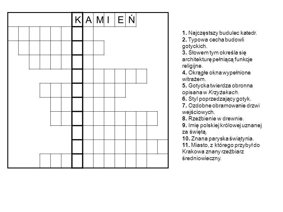 K A. M. I. E. Ń.