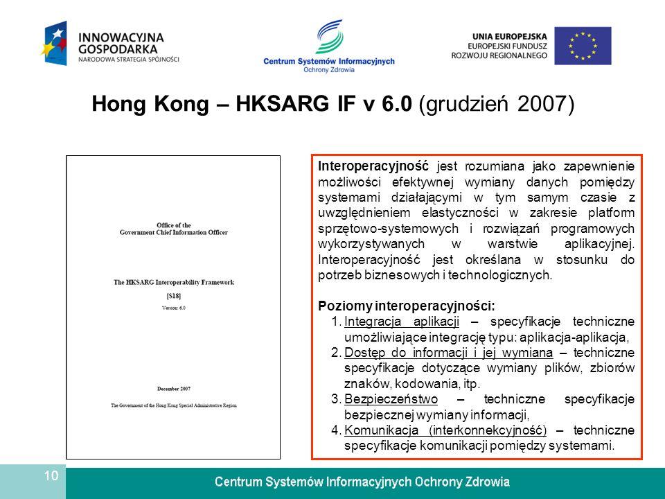 Hong Kong – HKSARG IF v 6.0 (grudzień 2007)